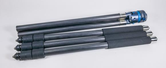 TrioPod mit QLEG CE50 Extensions und QLEG C2830 Carbon-Beinen