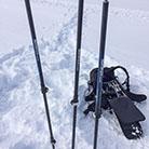 TrioPod mit Ski-/Wanderstöcken