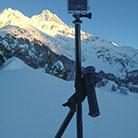 TrioPod Skistöcke mit GoPro