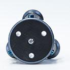 Der TrioPod-Kopf mit den 3 Extension-Löchern