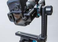 Kameramontage mit Nodalschiene