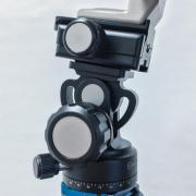 Monopod-Köpfe als Gimbal für Teleobjektive