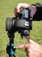 Novoflex-Skistock (Wasserwaage zur Kontrolle)