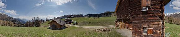 Panorama mit Novoflex-Skistock